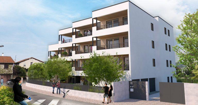 Atelier Racolta Architecte - Immeuble Les Loggias Fleuris - Villars