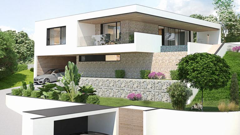 Atelier Racolta Architecte - Maison individuelle Delorina - Saint Galmier