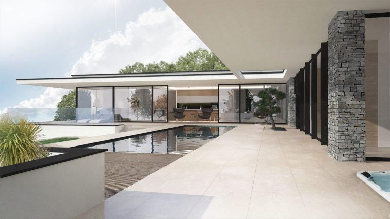 Atelier Racolta Architecte - Maison individuelle Panoramique - Saint Victor sur Loire