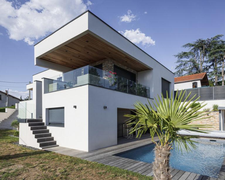 Atelier Racolta Architecte - Maison individuelle Maxime - La Talaudière