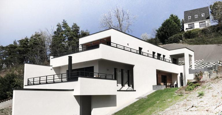 Atelier Racolta Architecte - Maison individuelle des Bocages - Saint Just Saint Rambert