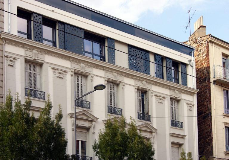 Atelier Racolta Architecte - Immeuble collectif Rochereau - Saint Etienne