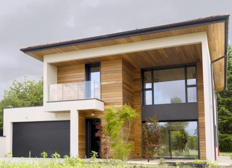 Atelier Racolta Architecte - Maison individuelle des Vignes - Douvaine