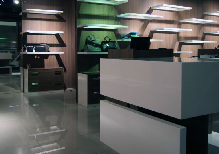 Atelier Racolta Architecte - Boutique Aix Maroquinier - Villars