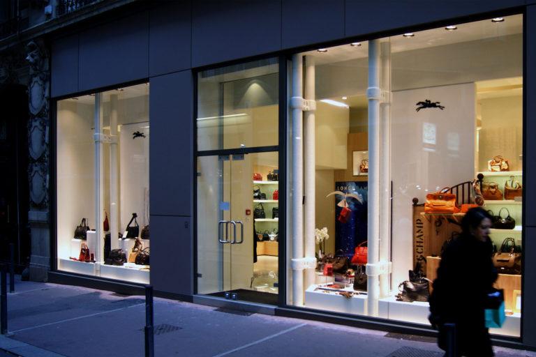 Atelier Racolta Architecte - Boutique Chalet Longchamp - Saint Etienne